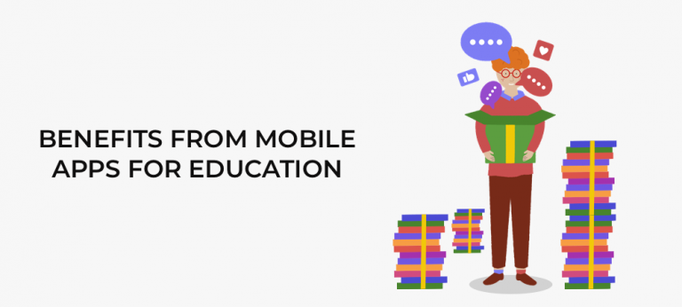 Benefits from mobile apps for education