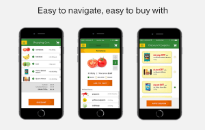 Convenient payment option in your grocery store app